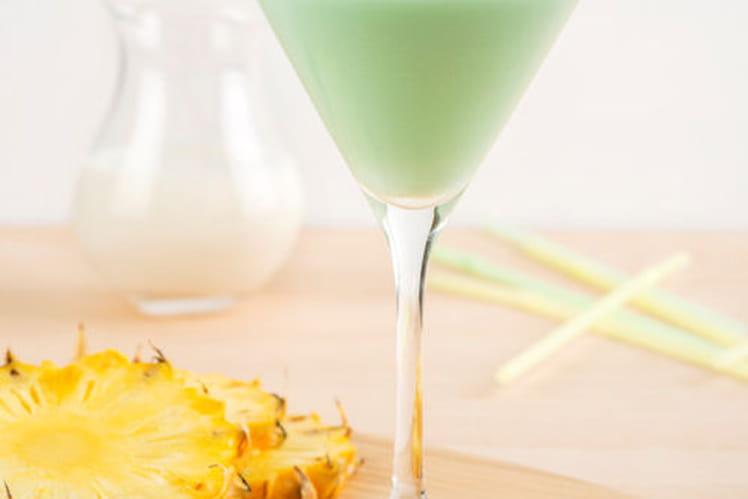 Recette De Cocktail Sans Alcool Au Lait De Coco Ananas Et Citron
