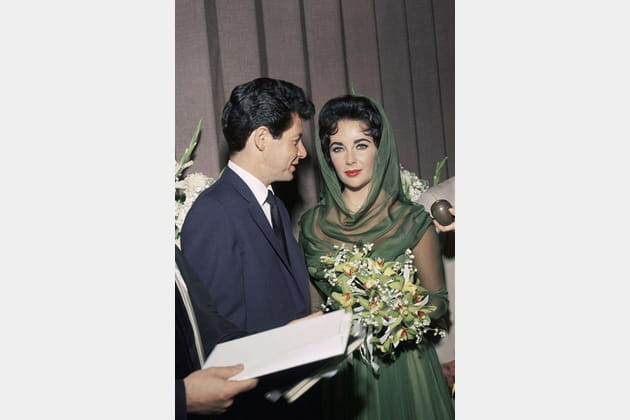 Elizabeth Taylor et Eddie Fisher