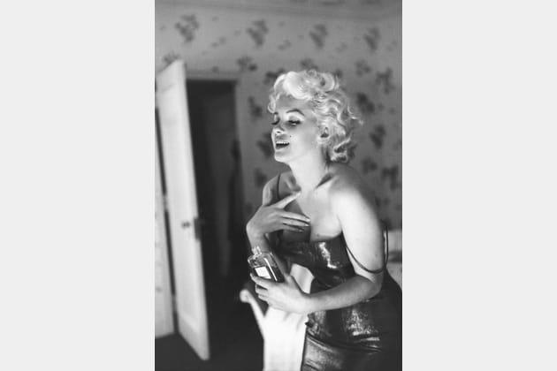 Marilyn Monroe et N°5en 1955