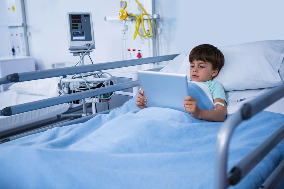 Un cartable connecté pour les enfants hospitalisés