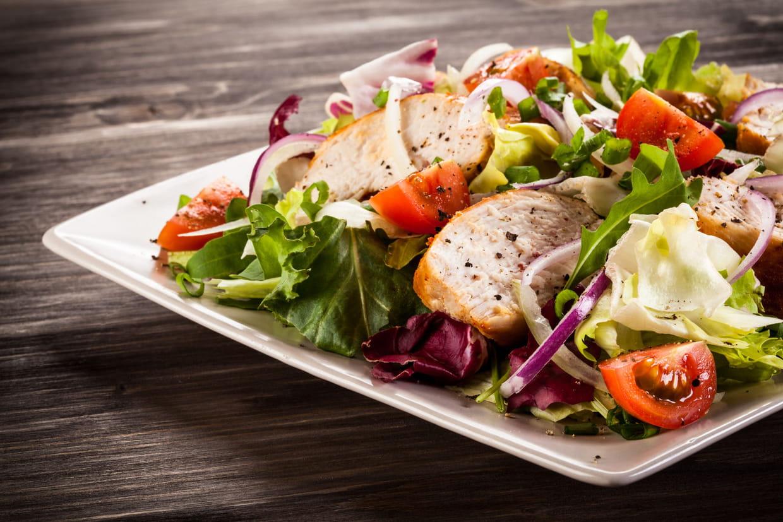 55 recettes de salades d 39 hiver for Regime pates