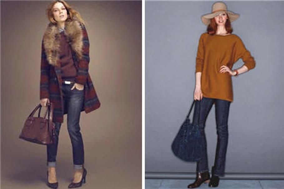 Le jean droit, une tendance de l'hiver 2012-2013