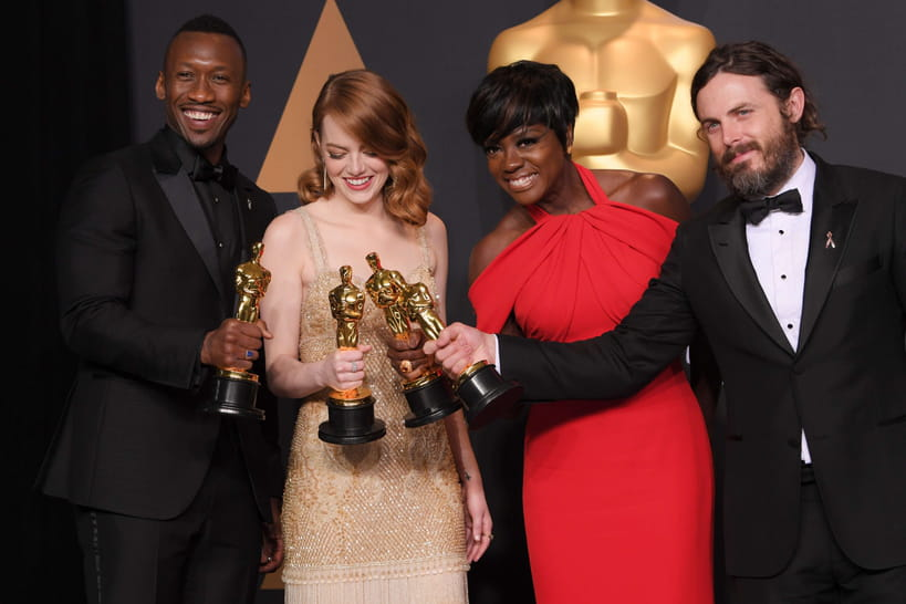 Oscars 2017: palmarès (historique) en images