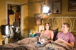 liliane et josé dans l'épisode 'le compliment'.