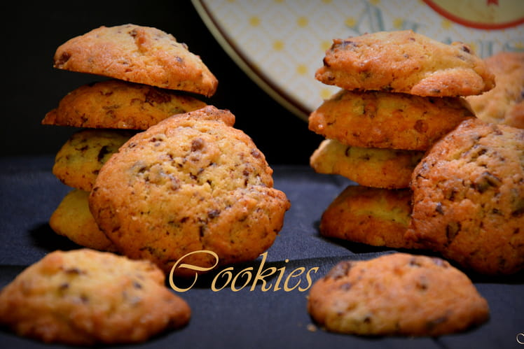 Cookies aux pépites de chocolat