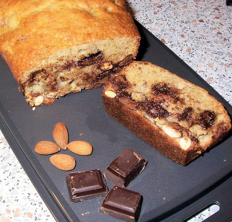 Cake Banane Chocolat Lait D Amande