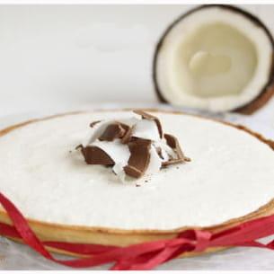 tarte choco et mousse coco