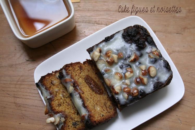 Cake figues et noisettes