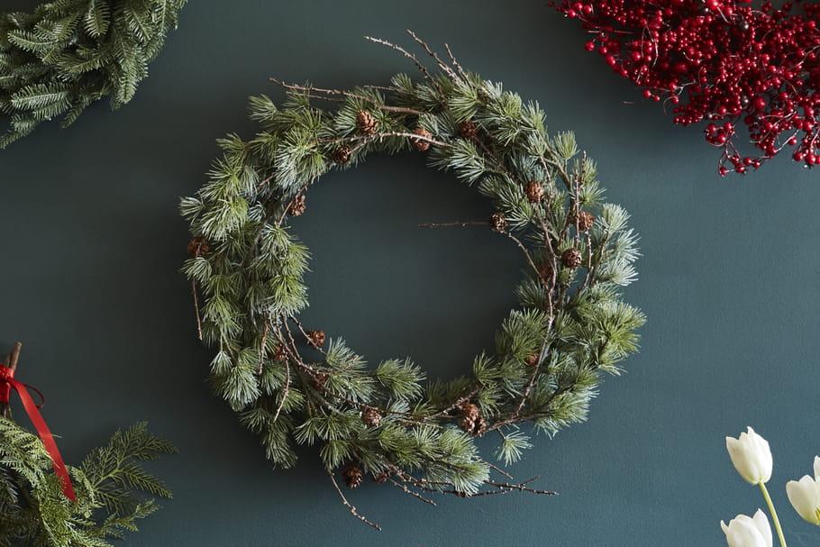 Fabriquer Une Couronne De Noel Couronne de Noël : originale, en bois, à fabriquer soi même