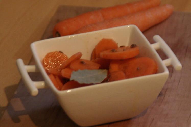 Carottes marinées aux épices