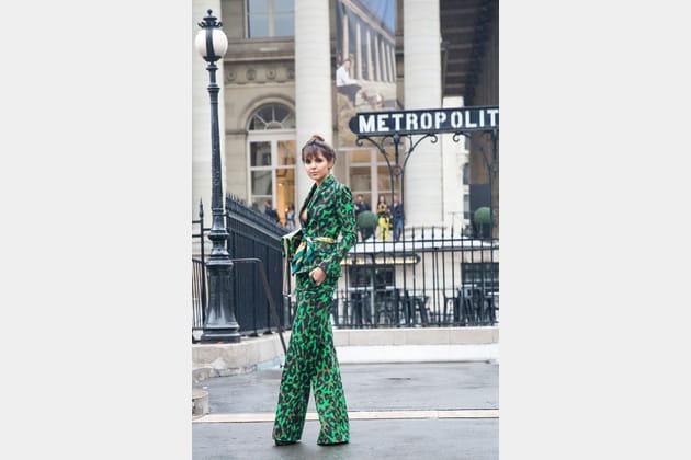 Street style à Paris : le total look