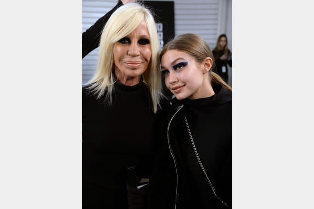 Donatella Versace et Gigi Hadid