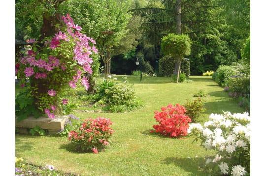Jardin fleuri for Deco jardin fleuri
