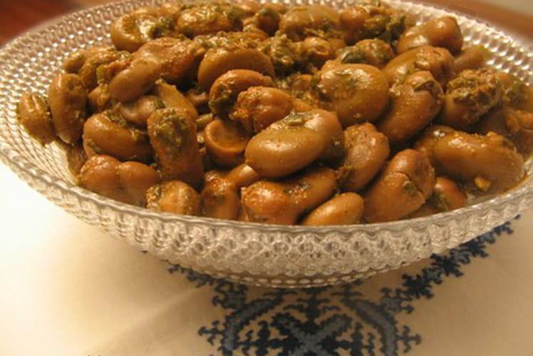 Feves à la marocaine