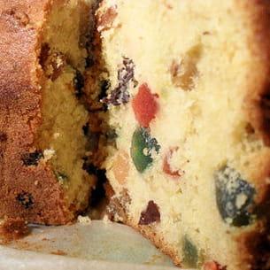cake aux fruits confits ou dundee cake