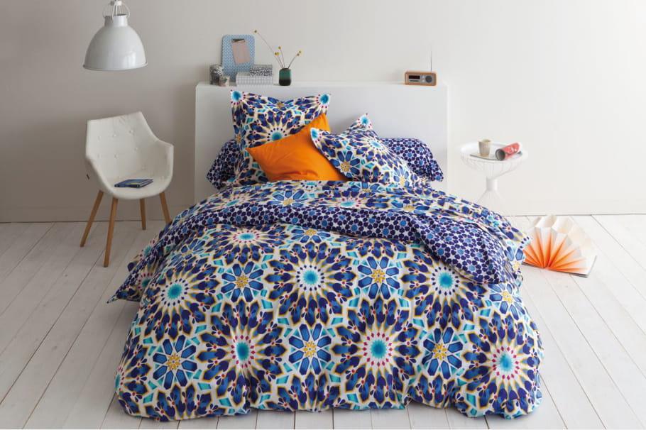 housse de couette imprim isabelle par les 3 suisses le. Black Bedroom Furniture Sets. Home Design Ideas