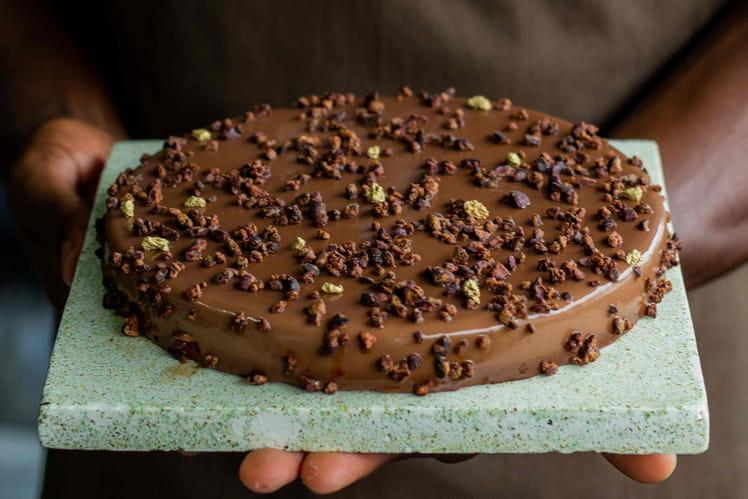 Tarte chocolat Diogo Vaz