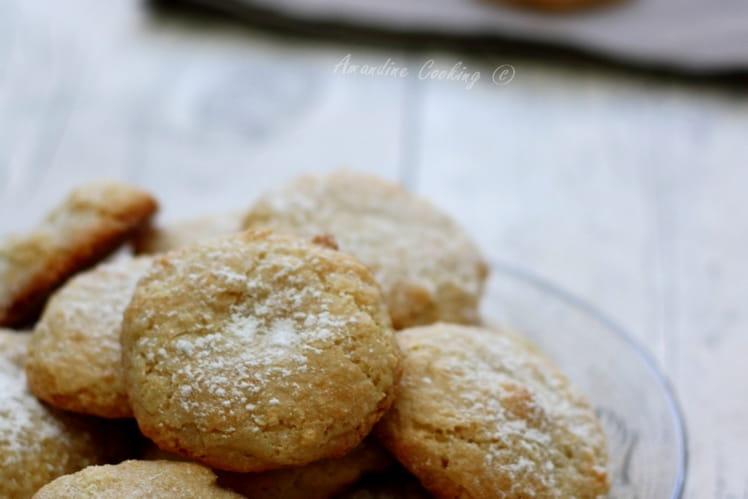 Amaretti, biscuits moelleux aux amandes sans gluten