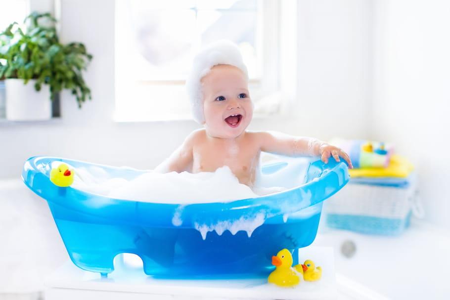 Les meilleures baignoires pour bébé