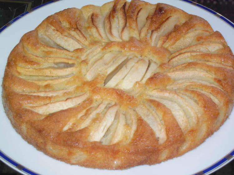 Recette De Gâteau Fondant Aux Pommes à Lancienne La Recette Facile