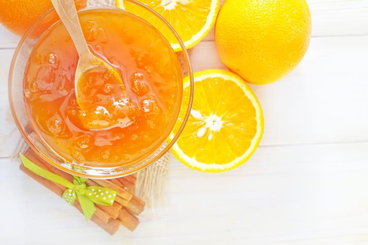 Confiture d'oranges et fleur d'oranger
