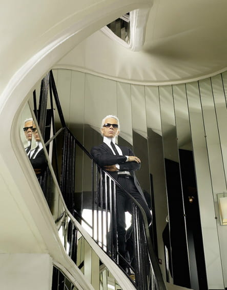 L'actuel escalier du 31rue Cambon