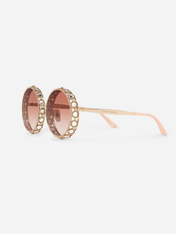 lunettes rondes de dolce  u0026 gabbana