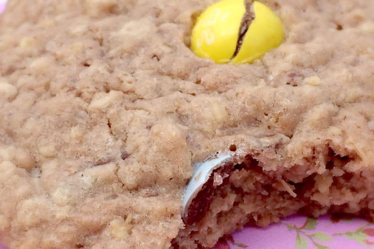 Cookies rétro au chocolat et M&M's