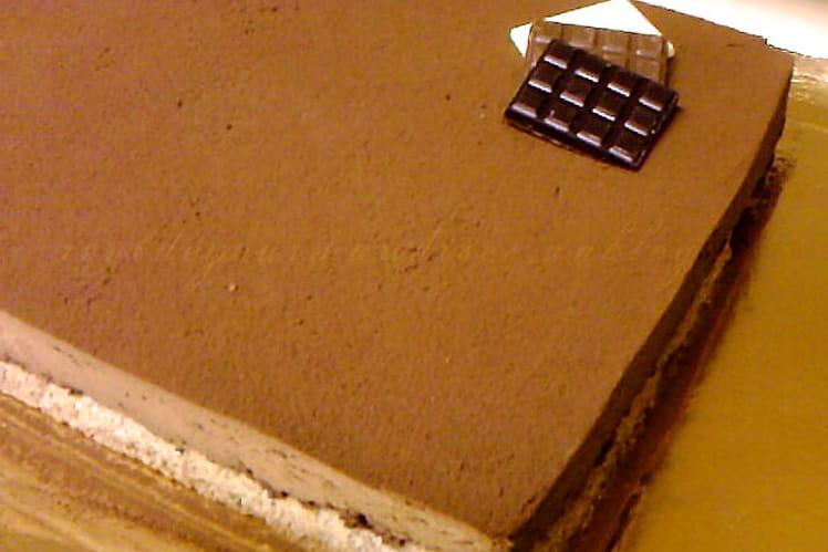 Craquant au chocolat mousseux