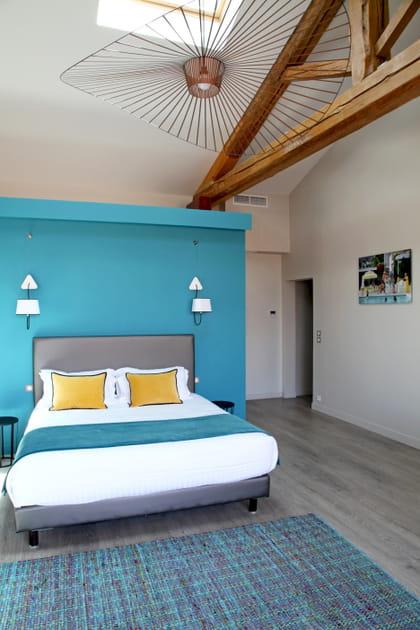 Une chambre de rêve sous les toits