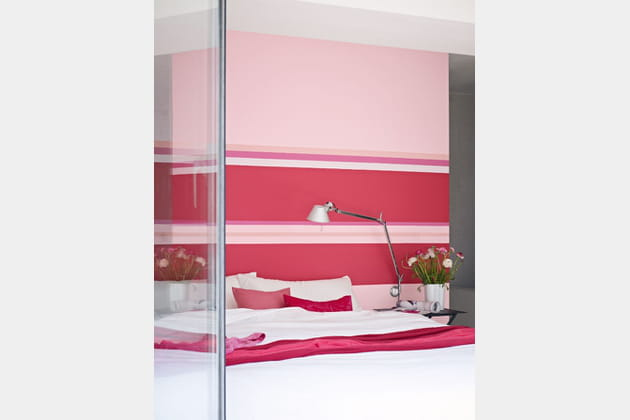 peintures rose par dulux valentine. Black Bedroom Furniture Sets. Home Design Ideas