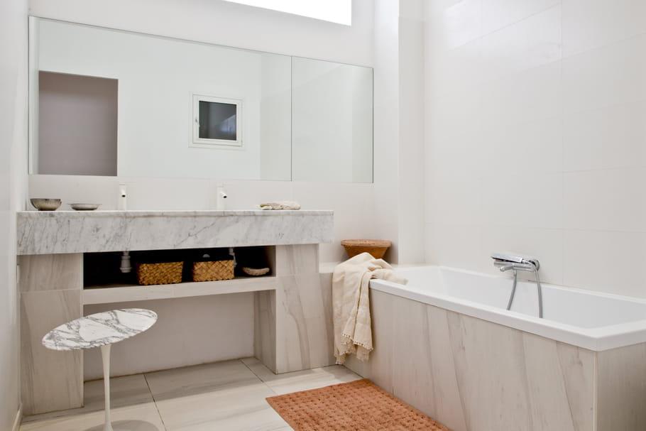 3salles de bains inspirées qui ne vous laisseront pas de marbre