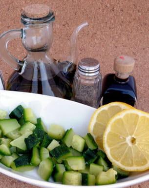 vinaigre de cidreet citron pour ralentir la digestion