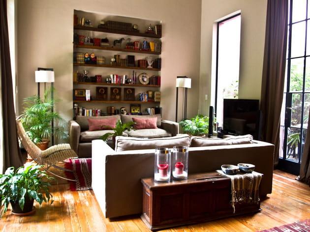 Un salon authentique