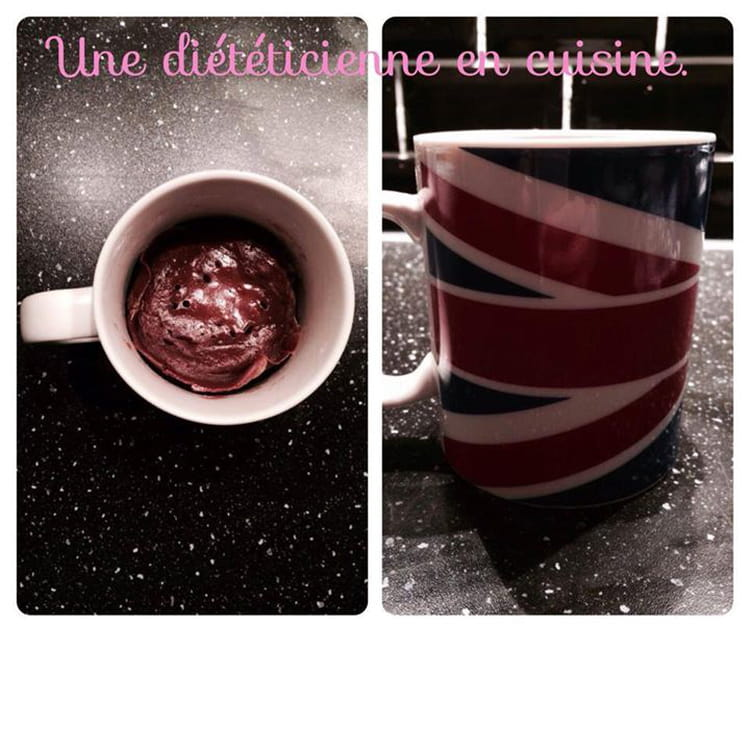 Recette De Mugcake Au Chocolat Allégé La Recette Facile