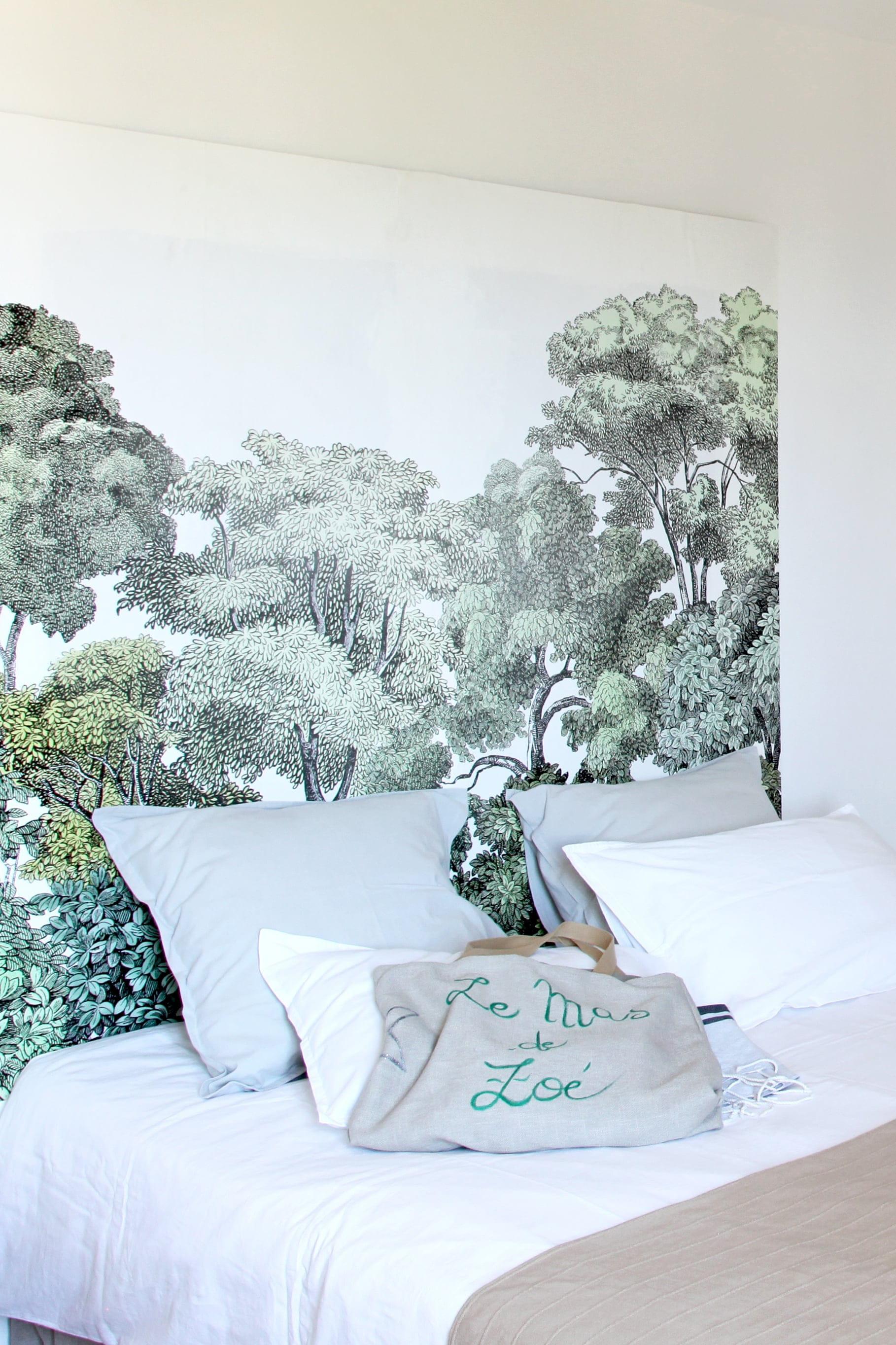 Papier Peint Pour Faire Tete De Lit créer un paysage