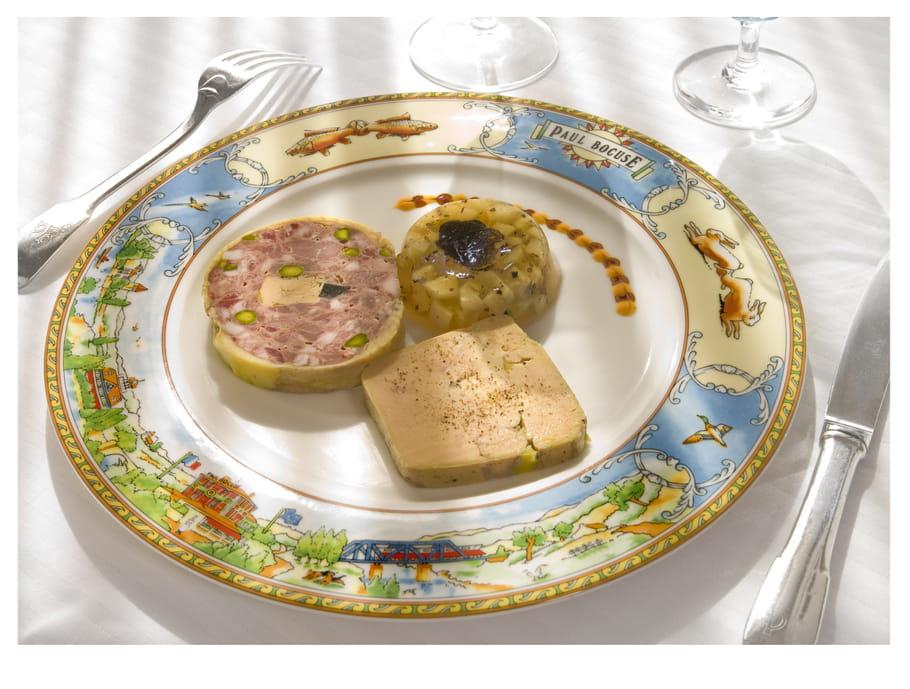 Dodine de canard à l'ancienne et foie gras