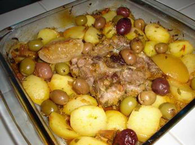 Recette de tajine au four la recette facile - Cuisiner des aubergines au four ...