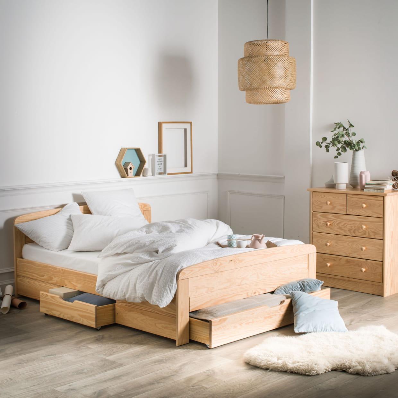 Ces lits avec rangement vont vous aider à optimiser la chambre