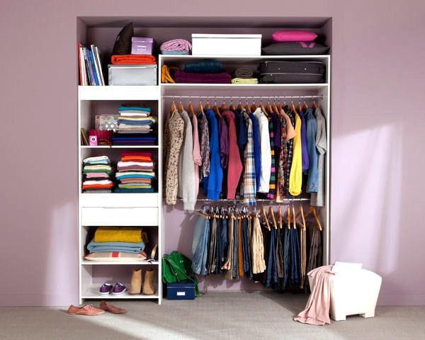 dressing extens de castorama. Black Bedroom Furniture Sets. Home Design Ideas