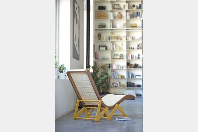 Chaise longue Rakwe d'Atelier130pour Kann