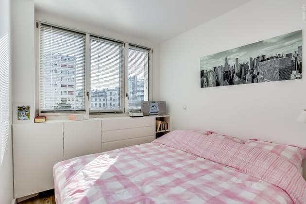 Une chambre minimaliste