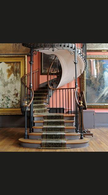 Chez Gustave Moreau à Paris