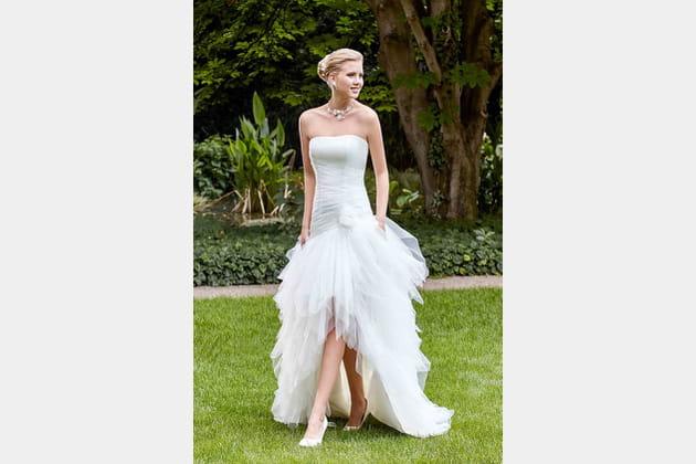 Robe de mariée Rafale de Point Mariage