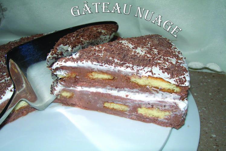 Gâteau nuage