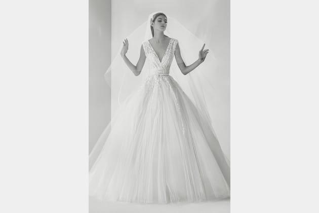 Une robe de mariée éblouissante
