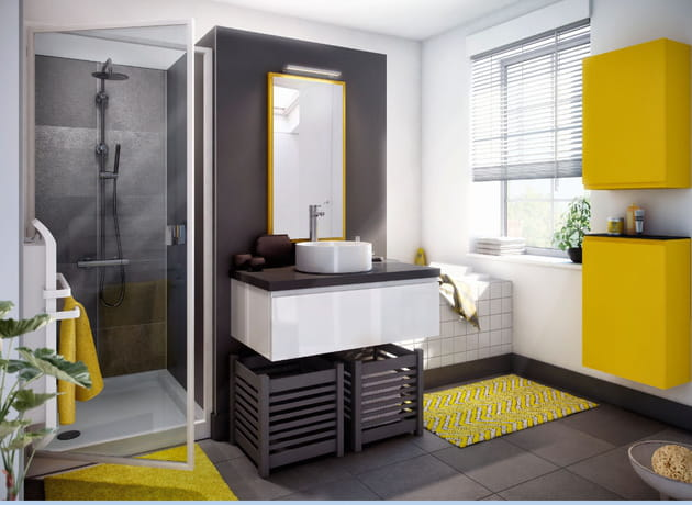 salle de bain pure par cuisinella. Black Bedroom Furniture Sets. Home Design Ideas