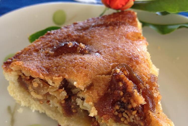 Recette de tarte aux figues s ch es la recette facile - Cuisiner des figues fraiches ...