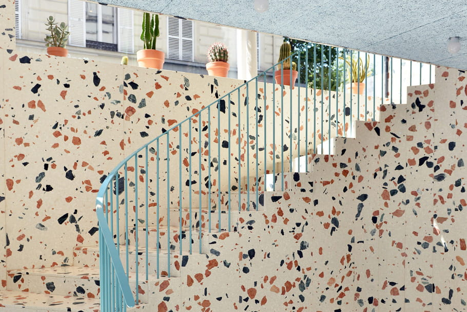 Terrazzo ou granito: adopter ce matériau qui ne fait pas tache