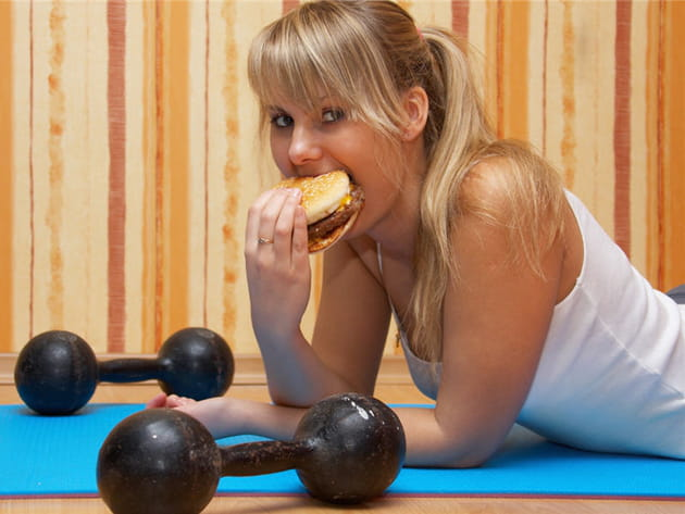 Il faut manger calorique après avoir fait du sport
